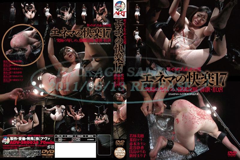 [ADV-SR0034] エネマの快楽  17 Omnibus Tied Yuria Hidaka 総集編 浣腸 オムニバス SM 2011/06/13
