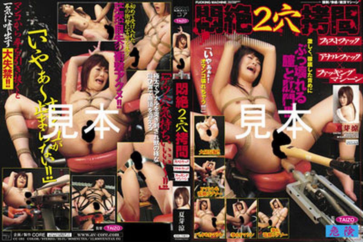 [CC-181] 悶絶2穴拷問 夏芽涼 調教 Squirting 2009/04/01 Rape