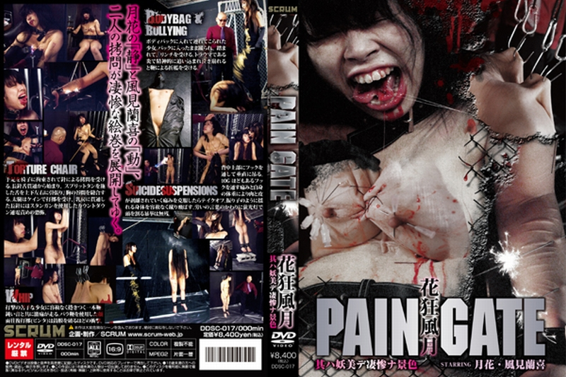 [DDSC-017] PAIN GATE 花狂風月 其ハ妖美デ凄惨ナ景色 拷問・ピアッシング スクラム PAIN GATE