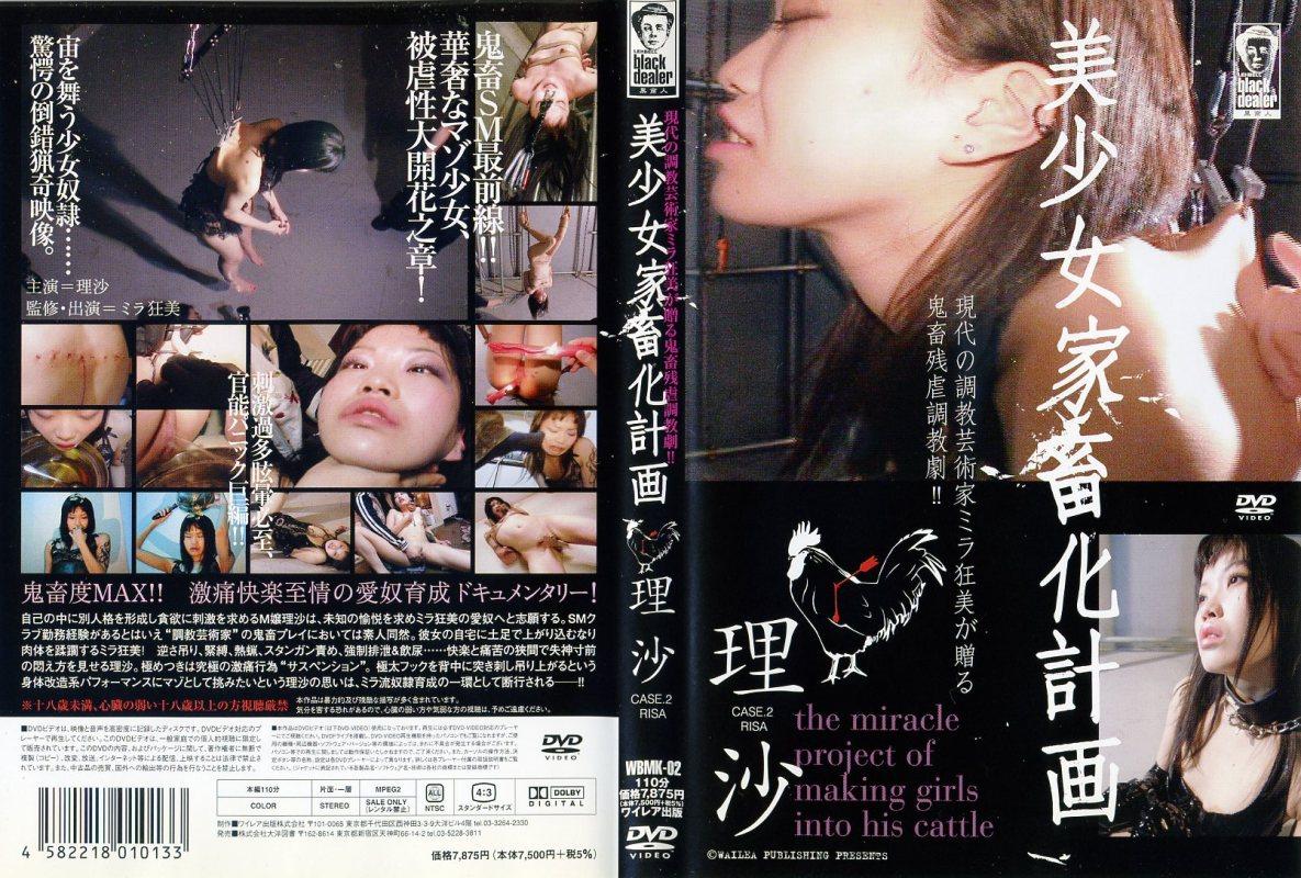 [WBMK-02] 美少女家畜化計画  2 スパンキング・鞭打ち Rape SM 調教