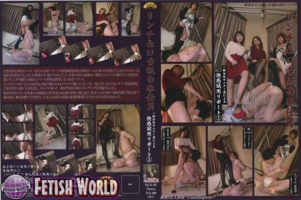 [HCD-05] 一般女性モニター達によるリンチ&口舌舐め奉仕男 快感試用リポート... ミニスカ Mini Skirt Golden Showers