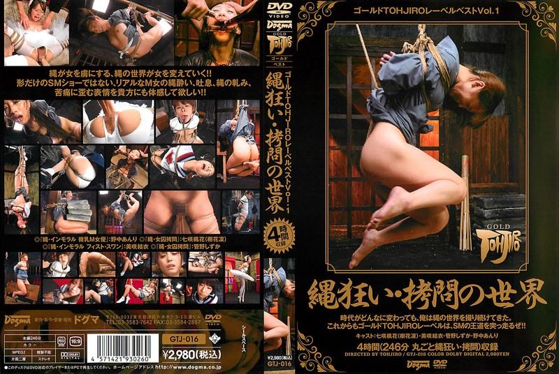 [GTJ-016] ゴールドラベルTOHJIROベスト Vol.1 Kanno Shizuka, Misaki Yui, Nonaka Anri, Nanasaki Fuuka