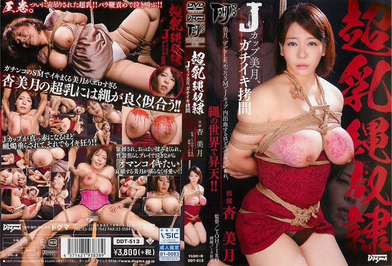 [DDT-513] 超乳・縄奴隷 Jカップ美月、ガチイキ拷問 杏美月 Mitsuki An SM