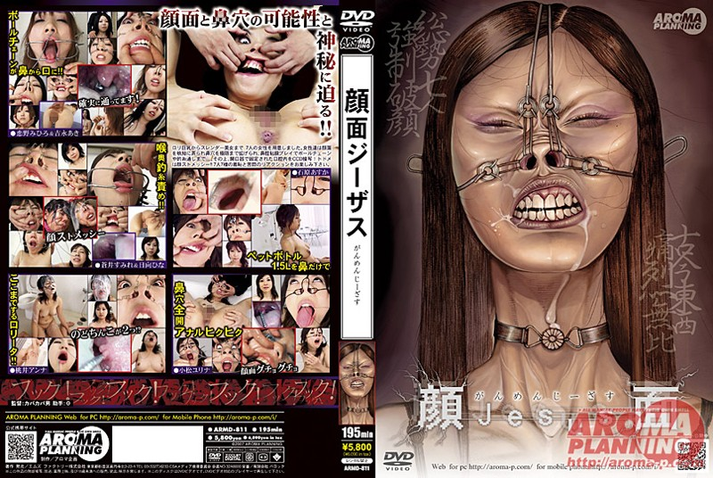 [ARMD-811] 顔面ジーザス SM 縛り その他フェチ カバカバ男 日向ひな Ishihara Asuka