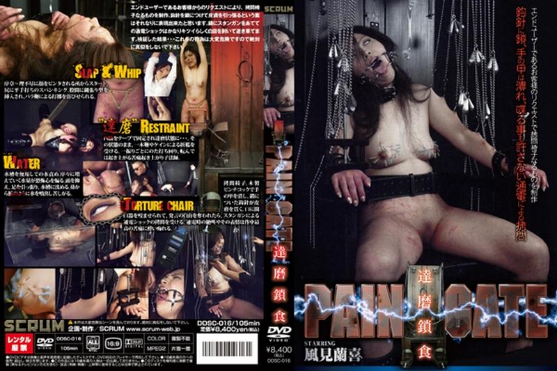 [DDSC-016] PAIN GATE 達磨鎖食 2009/12/21 SM