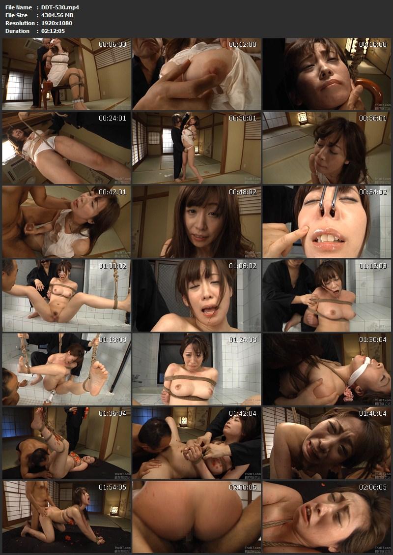 [DDT-530] 崩壊・縄奴隷 帰国子女お嬢さま 桃瀬ゆり Rape Momose Yuri SM