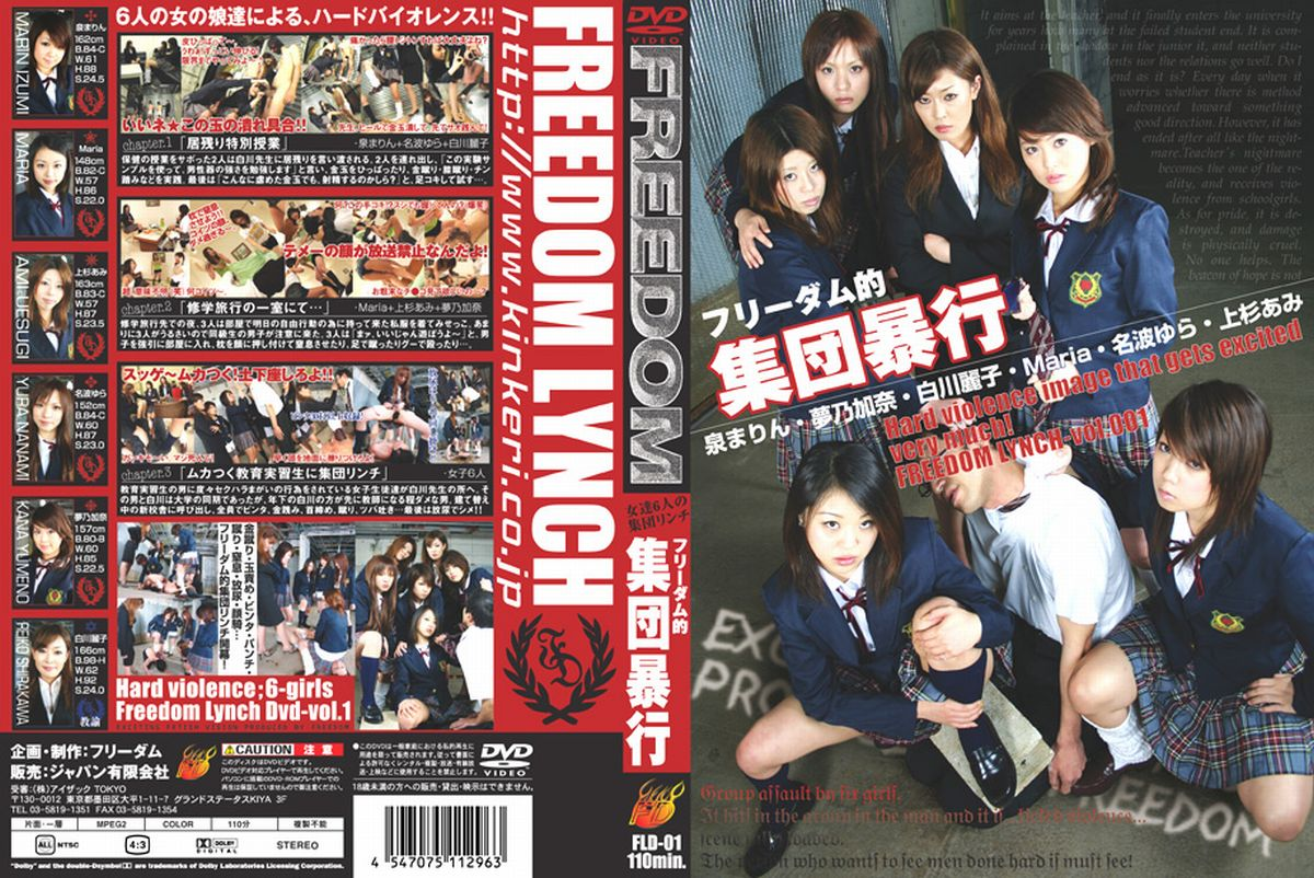 [FLD-001] フリーダム的集団暴行  調教 女子校生 110分 Torture