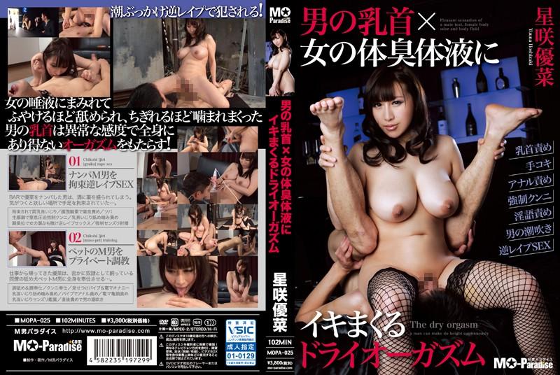 [MOPA-025] 男の乳首×女の体臭体液にイキまくるドライオーガズム Planning 潮吹き 2015/05/13