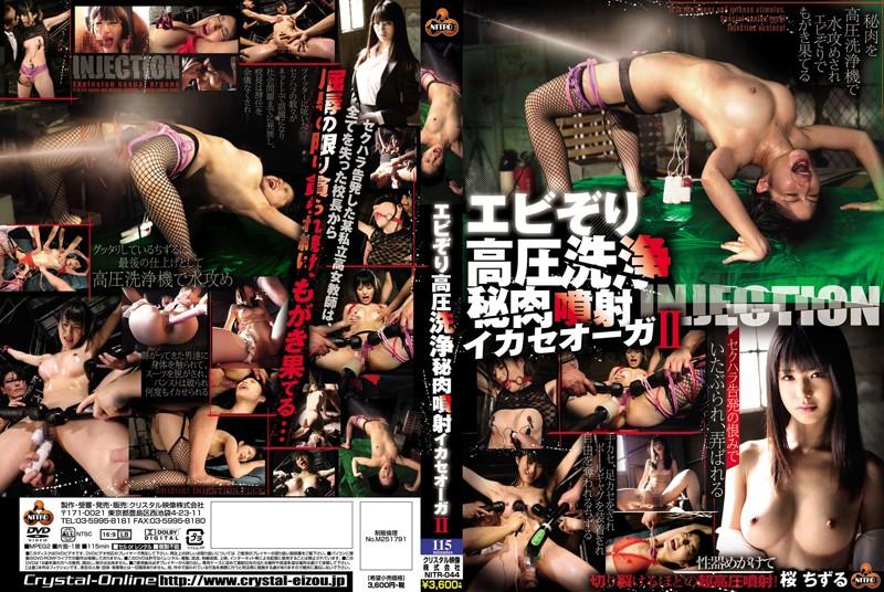 [NITR-044] Sakura Chizuru エビ反り高圧洗浄秘肉噴射イカセオーガ 2 Rape 輪姦・凌辱