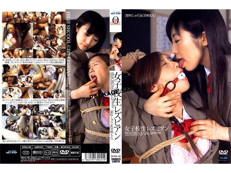 [DOSA-06] Kimishima Moe, Himesaki Syuri 女子校生レズビアン 姫咲しゅり&君嶋もえ ジャネス