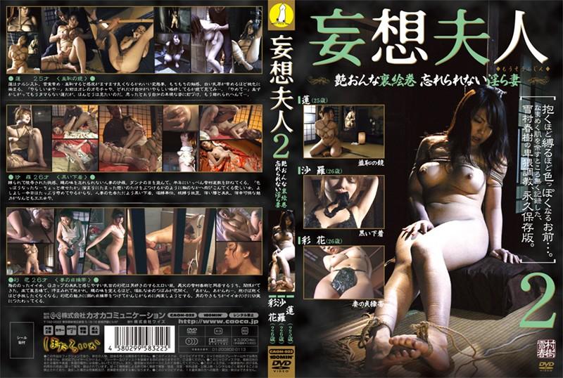 [CAOH-022] 妄想夫人 2 Torture Rape 凌辱 妄想・願望 人妻・熟女