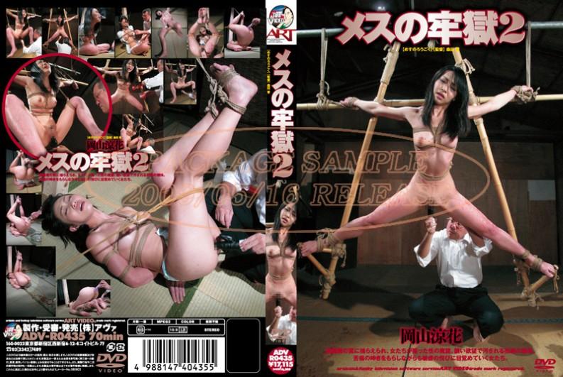 [ADV-R0435] Okayama Suzuka (岡山涼花) メスの牢獄 2 アート(アヴァ)