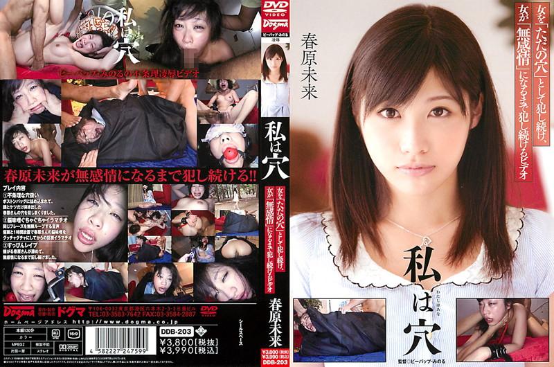 [DDB-203] Sunohara Miki 私は穴 Restraint イラマ 拘束