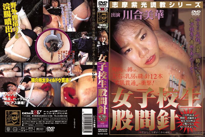 [SVND-028] Kawai Mika 女子校生股間針(じょしこうせいこかんばり) Torture Shima Planning