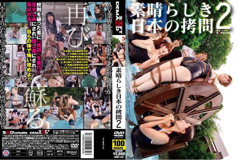 [SDMT-245] 素晴らしき日本の拷問 2 石川欣 100分 2011/01/25