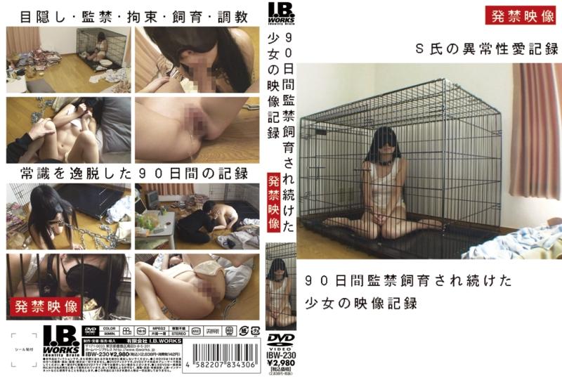 [IBW-230] 90日間監禁飼育され続けた少女の映像記録 I.B.WORKS Restraint