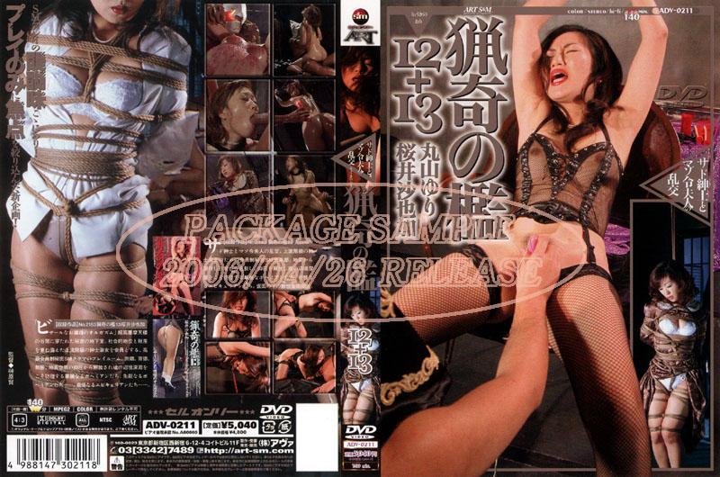 [ADV-0211] Sakurai Sayaka, Maruyama Yuri 猟奇の檻12+13 Other Amateur 95分 SM