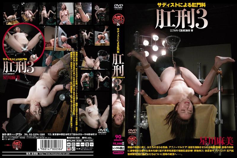 [ADVO-038] 肛刑3 90分 アートビデオSM/妄想族
