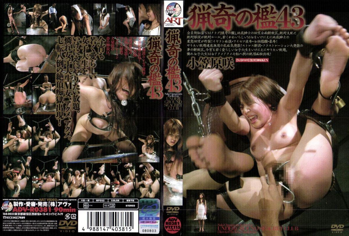 [ADV-R0381] 猟奇の檻 43 2008/09/19 アートビデオ