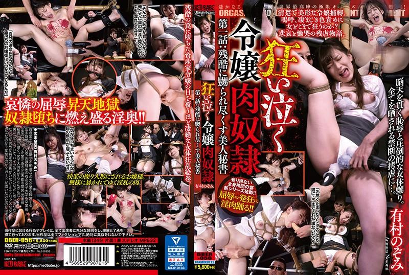 [DBER-056] Arimura Nozomi 狂い泣く令嬢肉奴隷 第一話 残酷に嬲られ尽くす美人秘書 ... アクメ Ol ローション媚薬 ミニスカ パイパン 2020-02-25