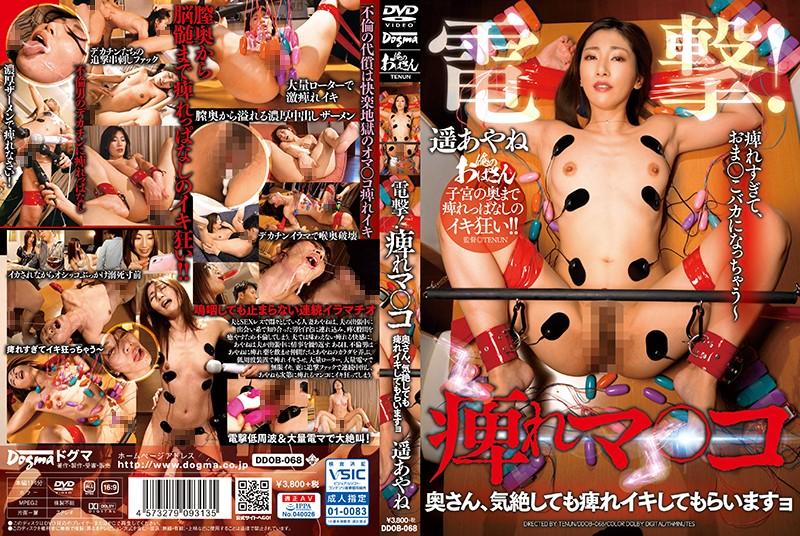[DDOB-068] Haruka Ayane 電撃 痺れマ○コ 奥さん、気絶しても痺れイキしてもらいますョ Deep Throating スレンダー ザーメンアクメ Cowgirl Mature