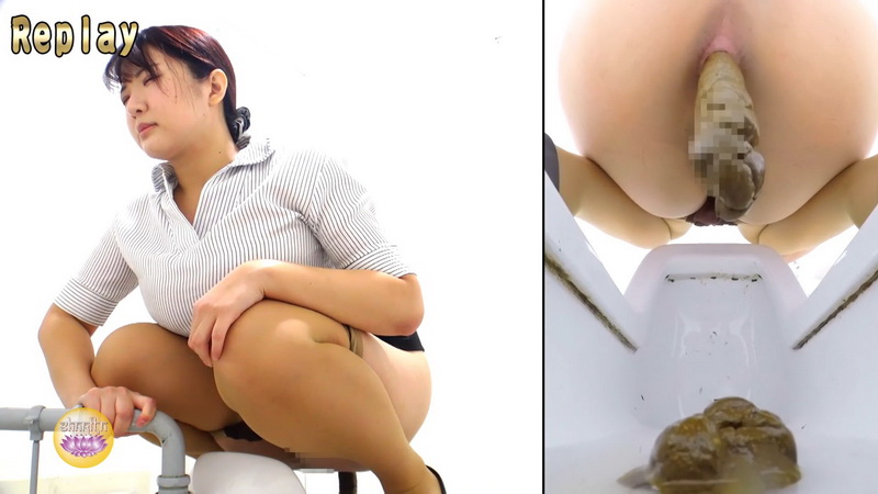 [BFSL-273] ジェイド Office lady Anus Enlargement and Powerful Stool スパイカメラ Voyeur Defecation